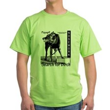 Nosework search for birch Malinois T-Shirt