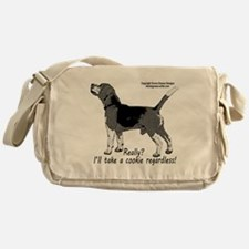 beagle nosework nathan Messenger Bag