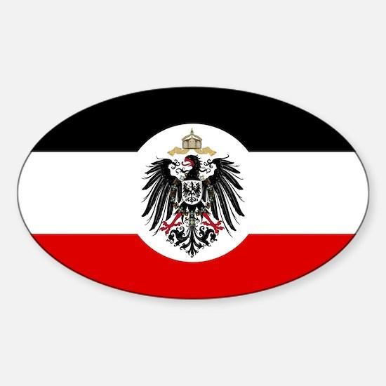 Samoa - German Rule - 1900-1914 Sticker (Oval)