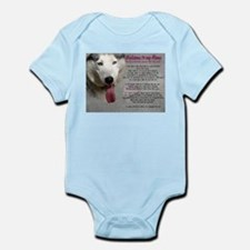 The Dog Lives Here. You Don't. Infant Bodysuit