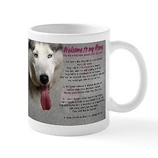 The Dog Lives Here. You Don't. Mug