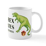 T-Rex hates Christmas Mug