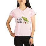 T-Rex hates Christmas Performance Dry T-Shirt