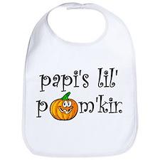Papi's Lil Pum'kin Bib