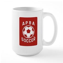 APBA Soccer Card Mug