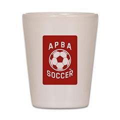 APBA Soccer Card Shot Glass