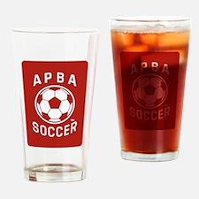 APBA Soccer Card Drinking Glass