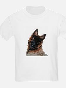 Tervuren puppy watercolor T-Shirt