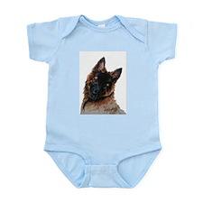 Tervuren puppy watercolor Infant Bodysuit