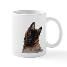 Tervuren puppy watercolor Mug
