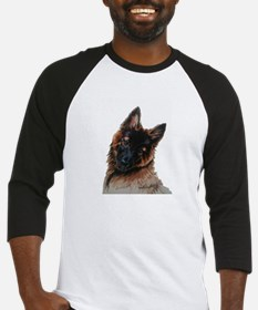 Tervuren puppy watercolor Baseball Jersey