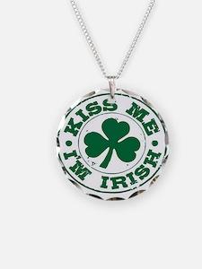 Kiss me I'm Irish Necklace