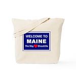Maine Love Tote Bag