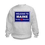 Maine Love Kids Sweatshirt