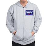 Maine Love Zip Hoodie