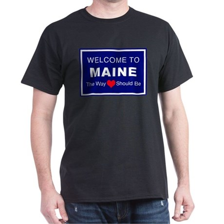Maine Love Dark T-Shirt