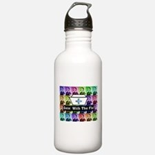Going with the Flo.PNG Water Bottle