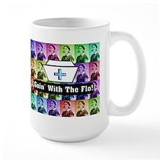 Going with the Flo.PNG Mug