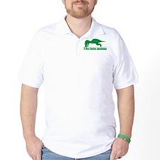 T-Rex Hates Pushups, Funny Dinosaur T-Shirt