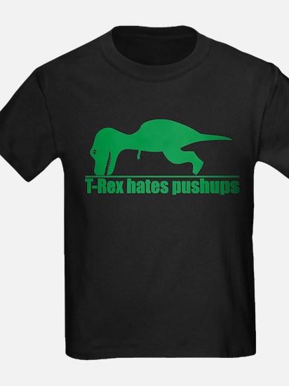 T-Rex Hates Pushups, Funny Dinosaur T