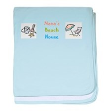 NANAS BEACHHOUSE.png baby blanket