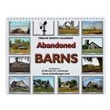Old barn Wall Calendars