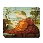 The Lady Reading Mousepad