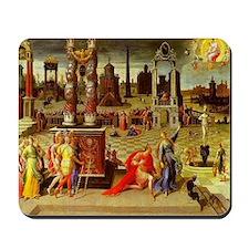 Augustus & The Sibyl Mousepad