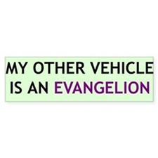 """My Other Vehicle"" Bumper Bumper Sticker"