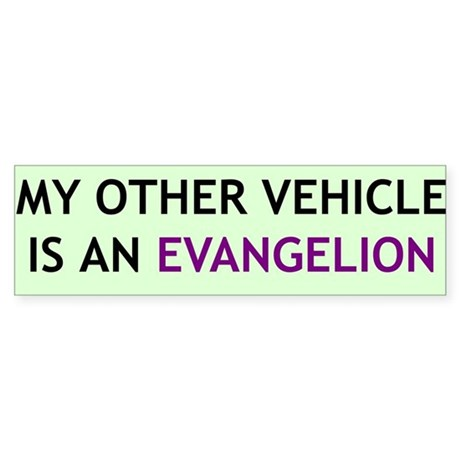 """My Other Vehicle"" Bumper Sticker"