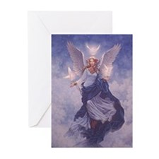 Angel Protector Greeting Cards