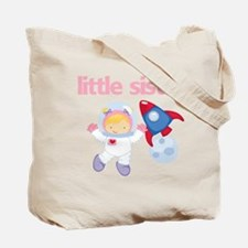 Astronaut Little Sister Tote Bag