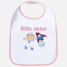 Astronaut Little Sister Bib