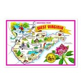 West virginia Postcards