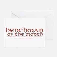 Henchman of the month Greeting Cards (Pk of 10