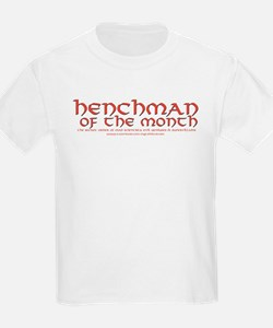 Henchman of the month Kids T-Shirt