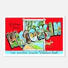 Wisconsin Greetings Postcards (Package of 8)