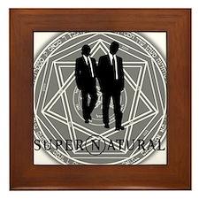 Supernatural Files Framed Tile