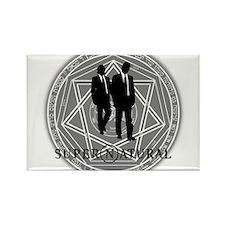 Supernatural Files Rectangle Magnet