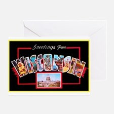 Wisconsin Greetings Greeting Card