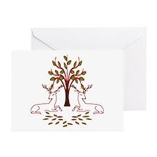 Resting Reindeer Greeting Cards (Pk of 20)