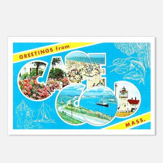 Cape Cod Massachusetts Greetings Postcards (Packag