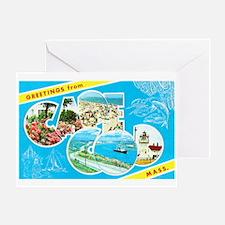 Cape Cod Massachusetts Greetings Greeting Card