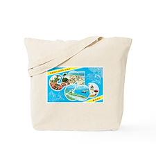 Cape Cod Massachusetts Greetings Tote Bag
