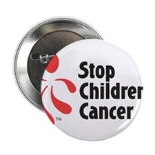 "Stop Children's Cancer Logo 2.25"" Button"
