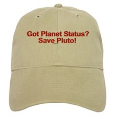 Got Planet Status? Save Pluto Baseball Cap