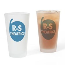 R-S Logo Blue Drinking Glass