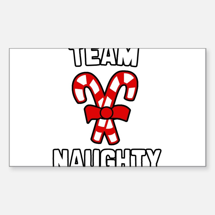 Team Naughty Decal