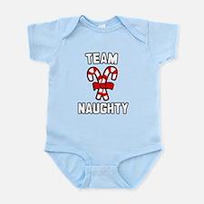 Team Naughty Infant Bodysuit