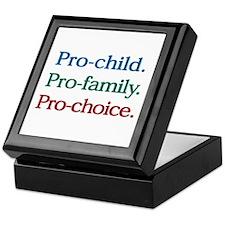 Pro-Choice Keepsake Box